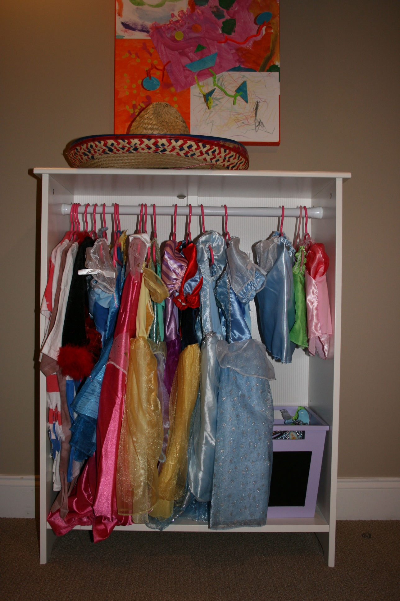 Dress up clothes storage ikea storage designs do it yourself dress up closet birmingham mommy solutioingenieria Gallery