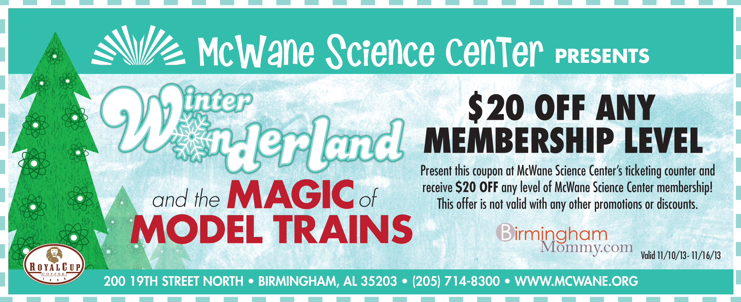Orlando science center discount coupon