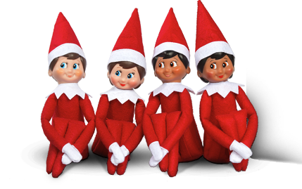 Elf on the shelf for people who hate elf on the shelf - Christmas elf on the shelf wallpaper ...