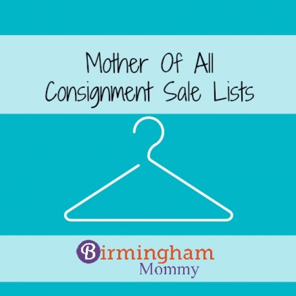 Consignment List Fall 2016 Birmingham