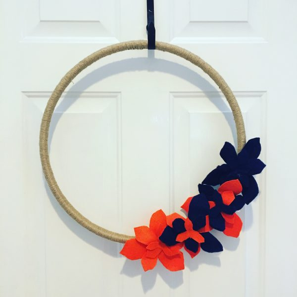 Game Day Wreath