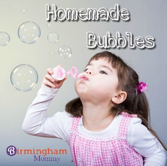 Homemade Bubbles