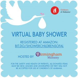 Childrens Virtual Baby Shower