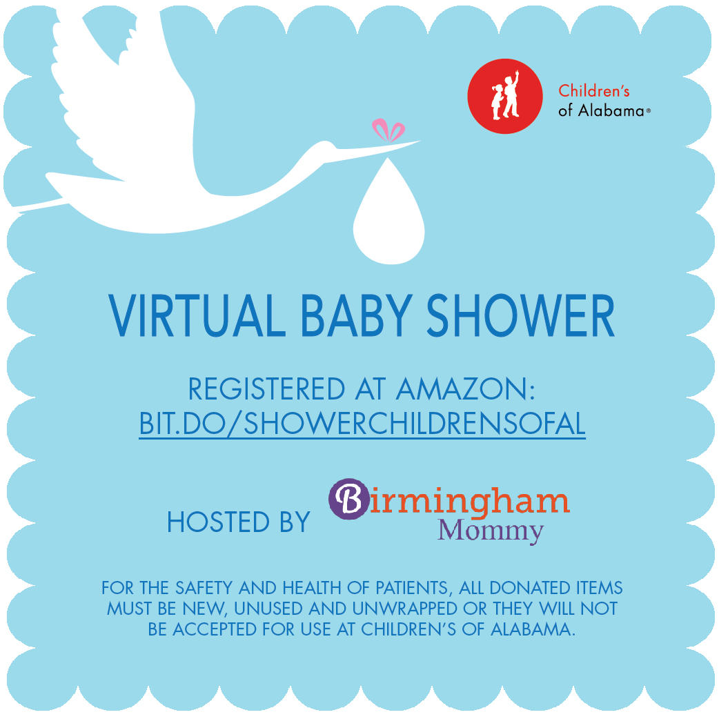 children s of alabama virtual baby shower