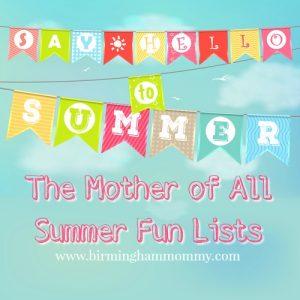 Summer Fun and Activities in Birmingham