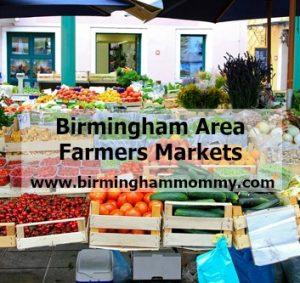 Birmingham Area Farmers Markets