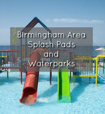 Birmingham Splash Pads and Waterparks