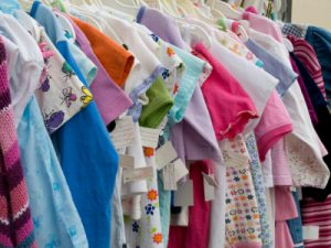 Children's Clothes at Consignment Sale