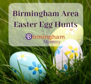 Birmingham Easter Egg Hunt List