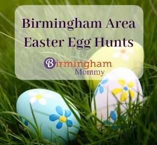 Birmingham Easter Egg Hunt List