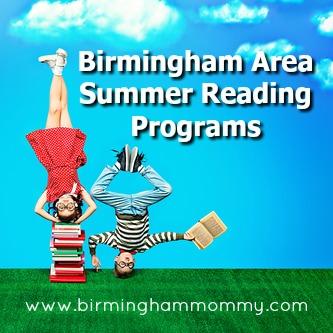 Birmingham Area Summer Reading