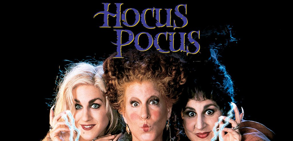 The witches from the movie hocus pocus