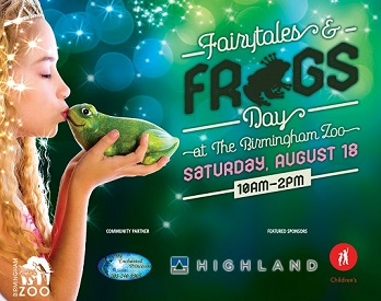 Fairtales and Frogs Birmingham Zoo
