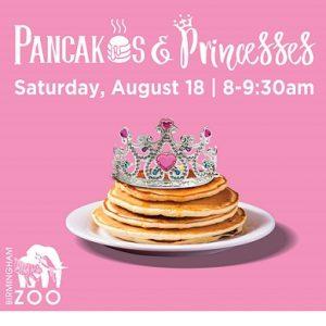 Pancakes and Princesses Birmingham Zoo