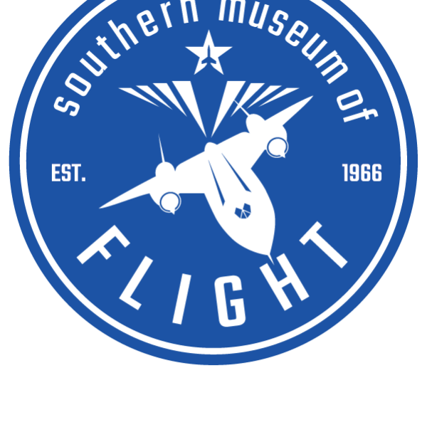 Southern Museum of flight logo with airplane
