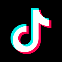TikTok App Logo with music note