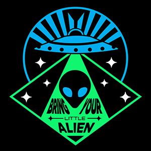 UFO with Alien