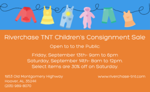 Sale Info for Riverchase TNT Sale