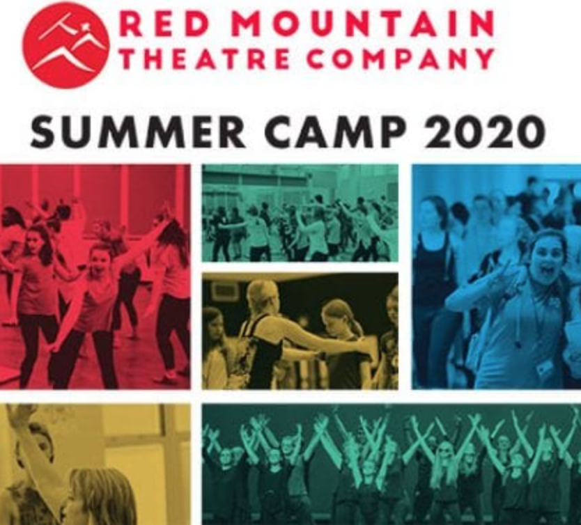 Photos of children as Red Mountaint Theatre Summer Camps