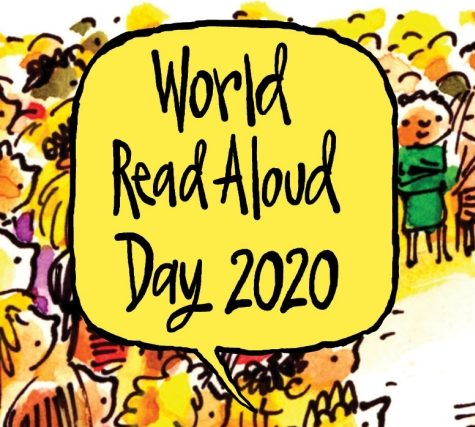 Graphic of world read aloud day 2020